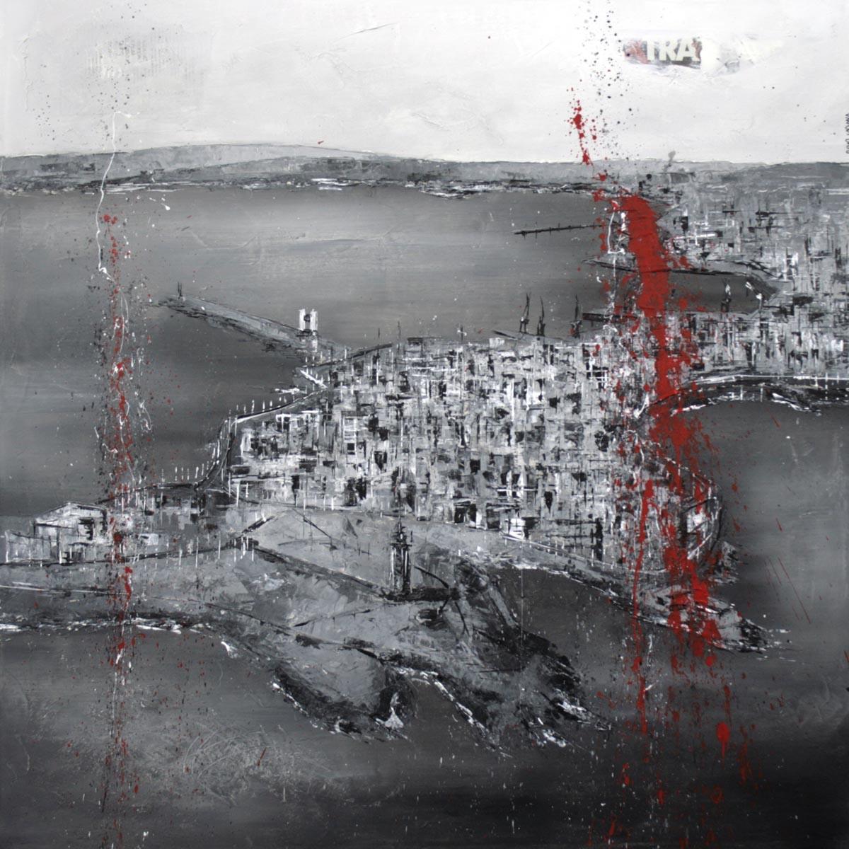 569_coruña_95x95cm_mixed on canvas