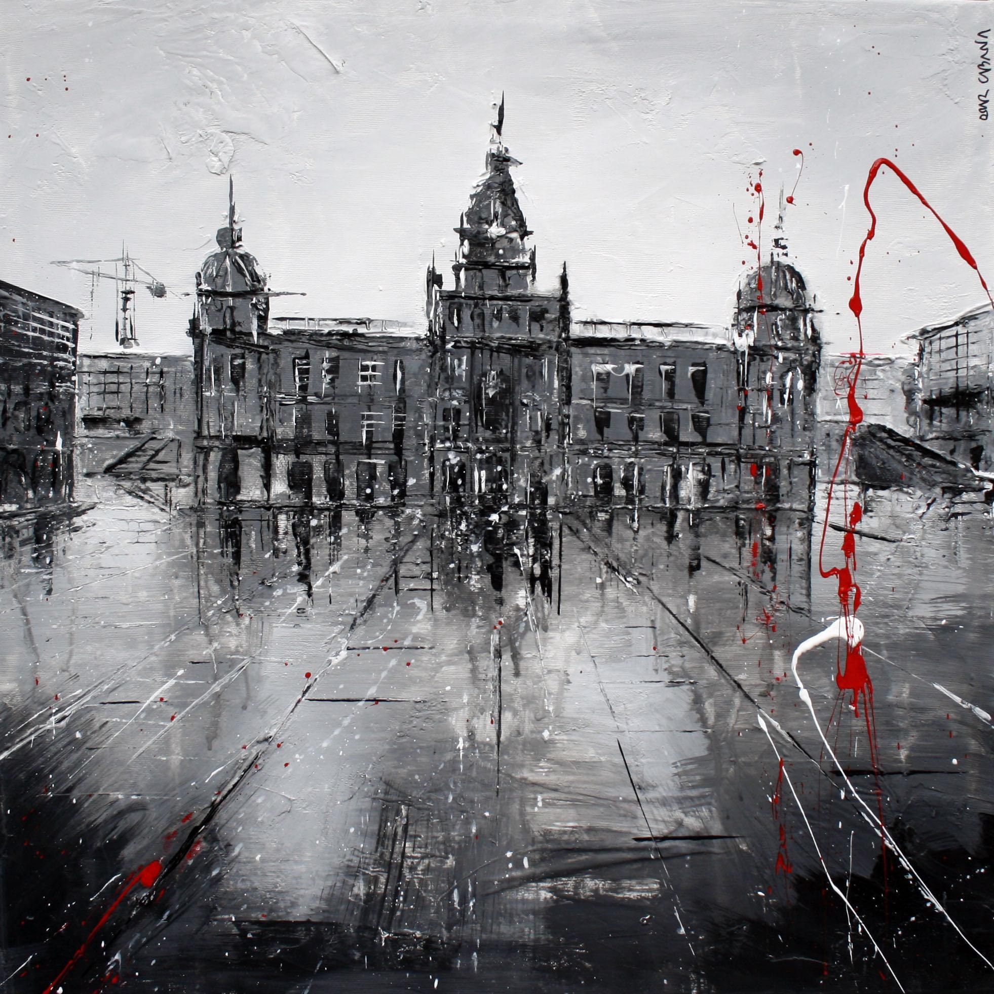 597_ayuntamiento_50x50cm_mixed on canvas