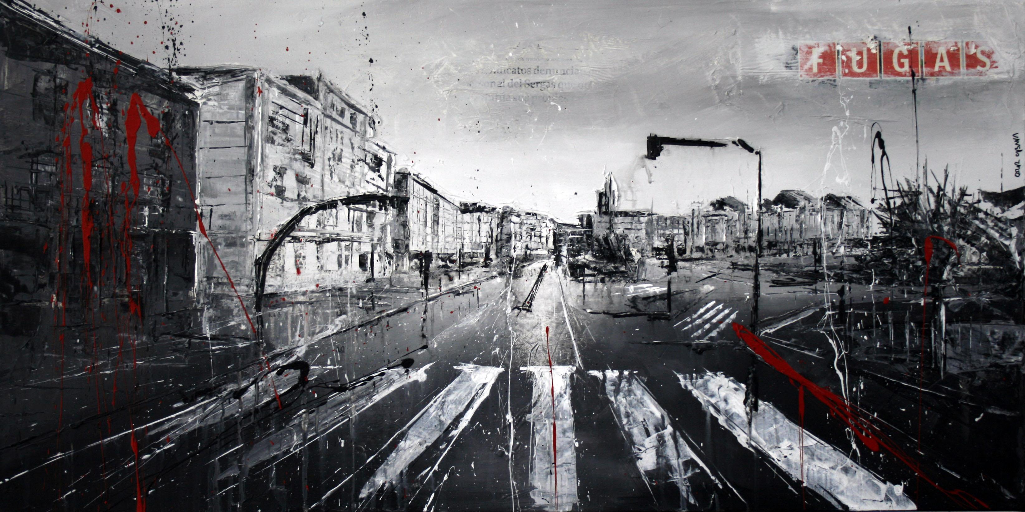 599_la marina_100x50cm_mixed on canvas