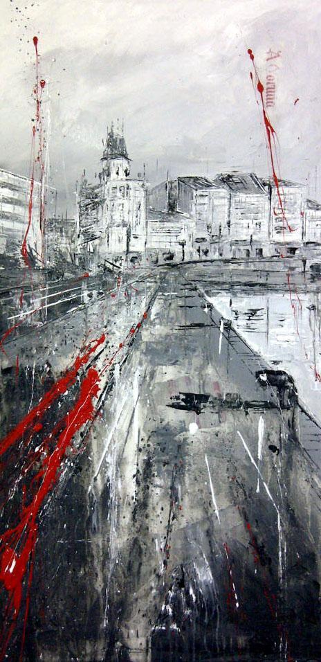 624_dársena_50x10cm_mixed on canvas