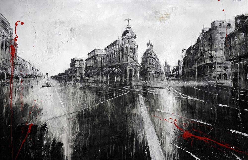 670_metropolis_145x95cm_mixed on canvas