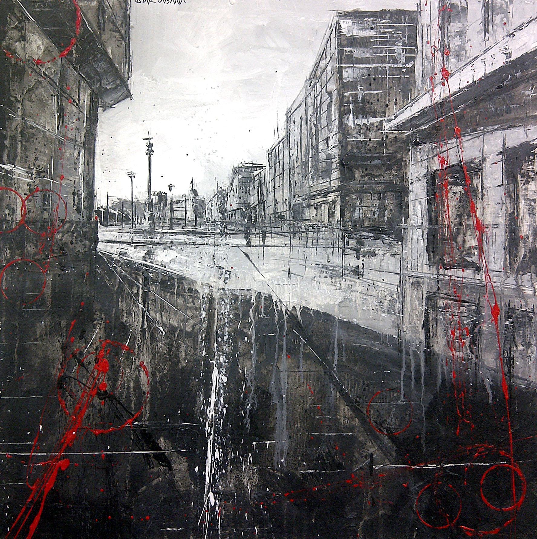 713_obelisco_60x60cm_mixed on canvas