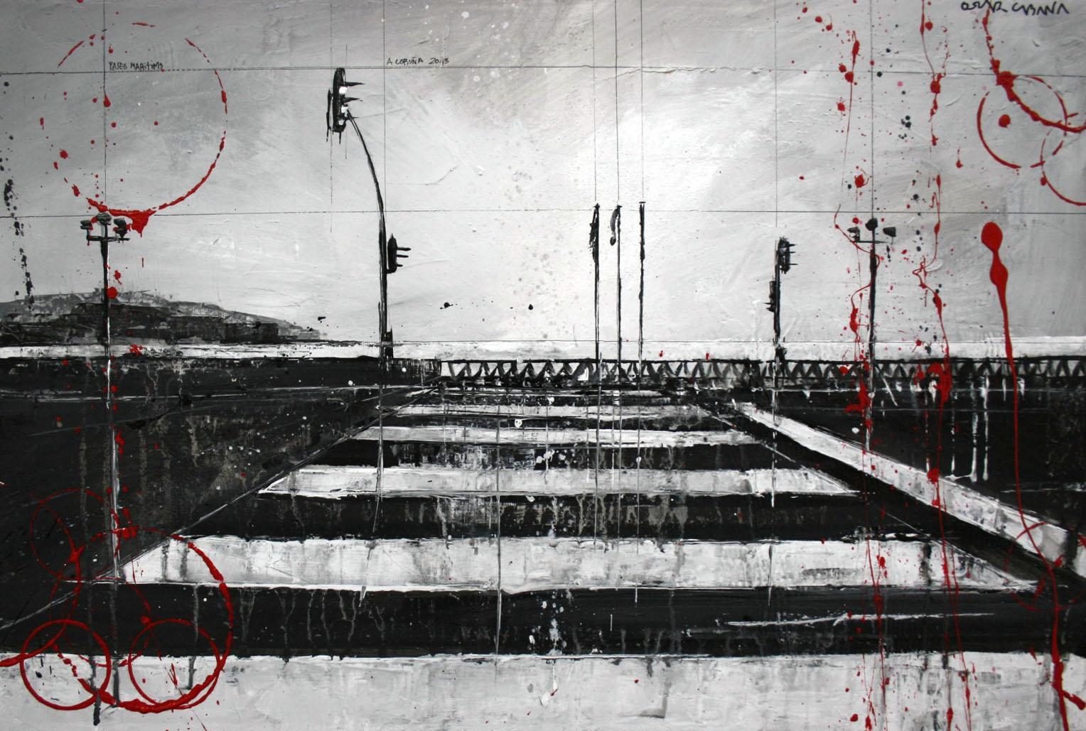 723_paso de cebra_60x40cm_mixed on canvas