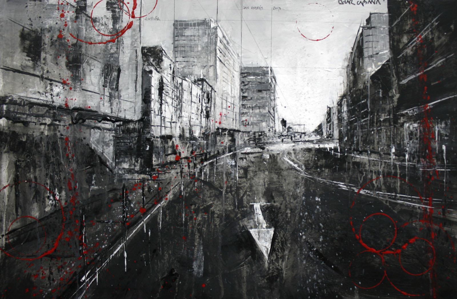 724_san andrés_60x40cm_mixed on canvas