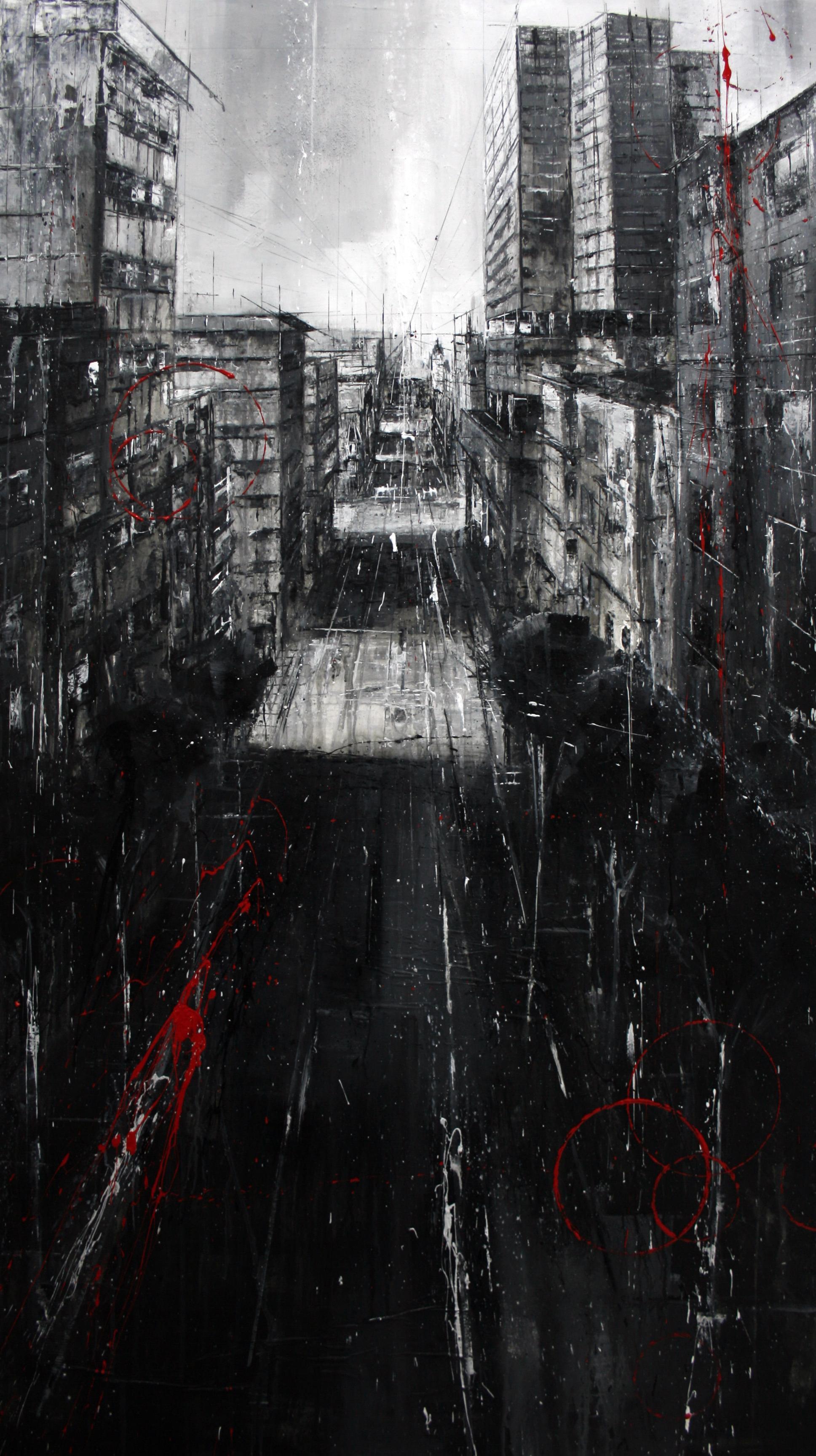 740_cabo santiago gómez_95x165cm_mixed on canvas