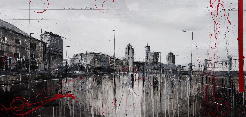 803_primo de rivera_100x50cm_mixed on canvas