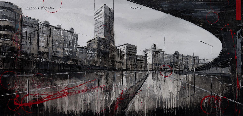 804_linares rivas_100x50cm_mixed on canvas