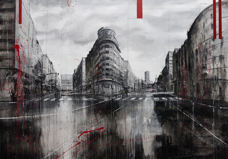 813_juan flórez_100x140cm_mixed on canvas
