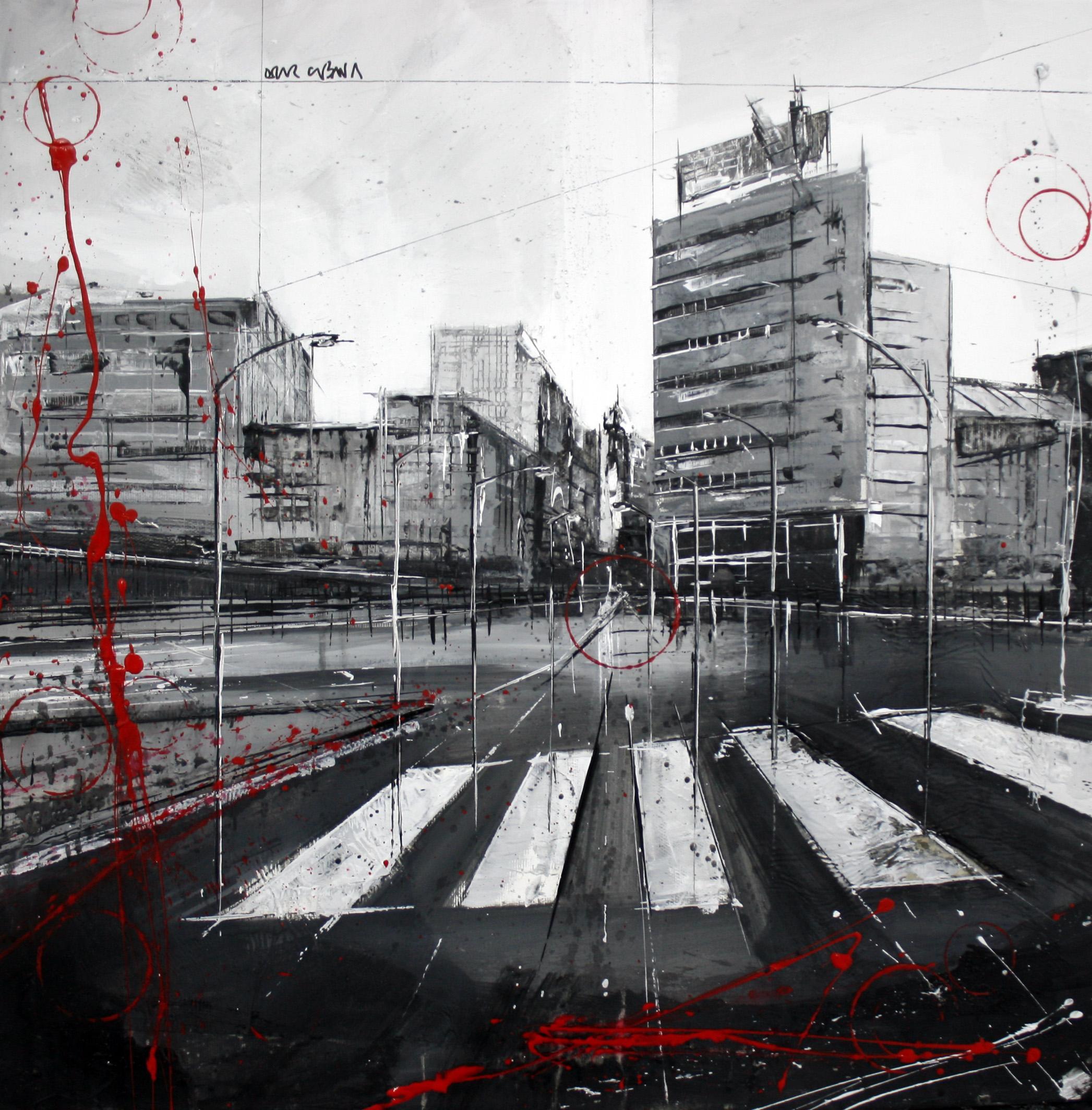 825_calle juan florez – calle falperra_50x50cm_mixta sobre lienzo