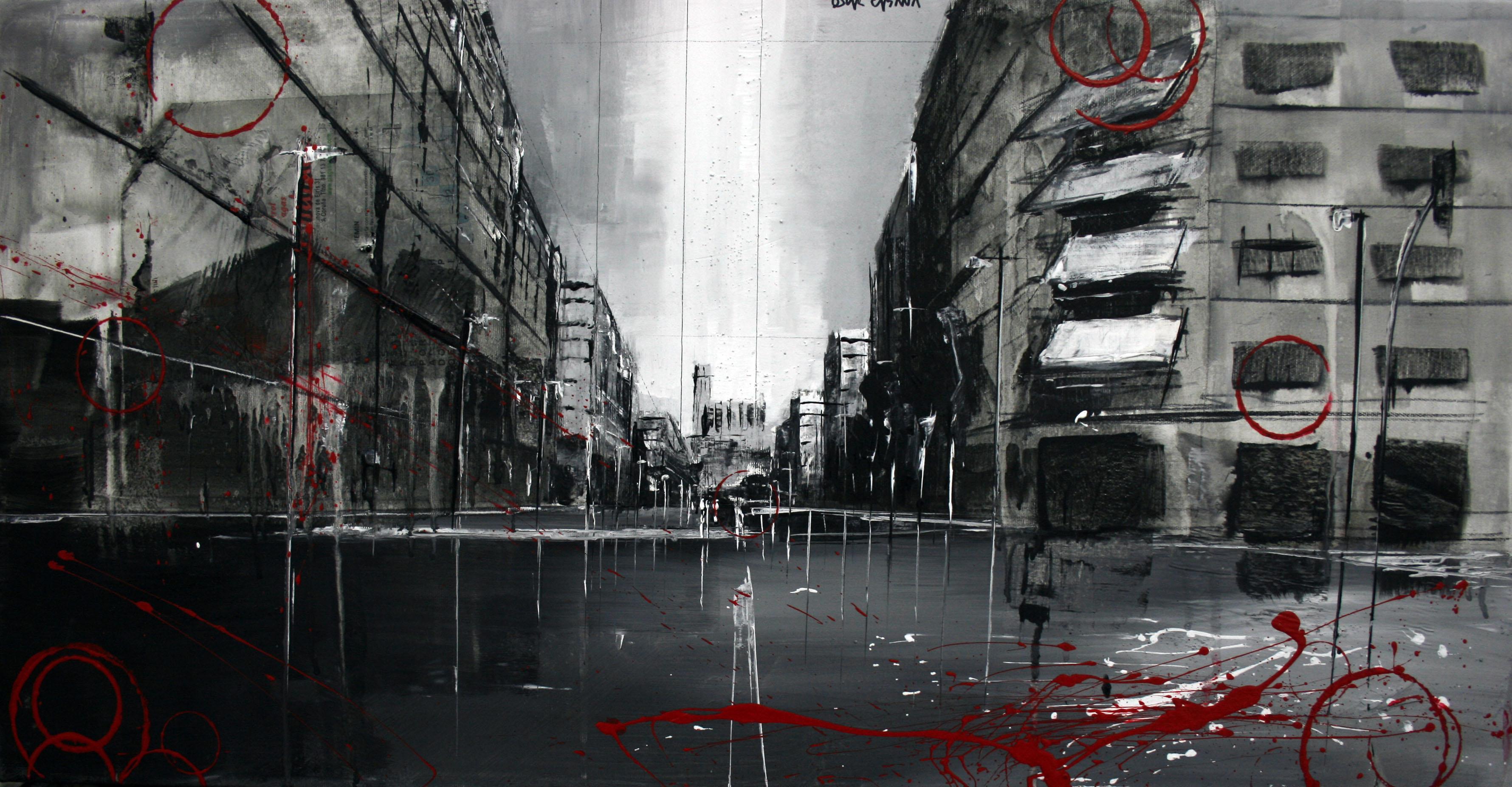 862_avenida garrigues_80x40cm_mixta sobre lienzo