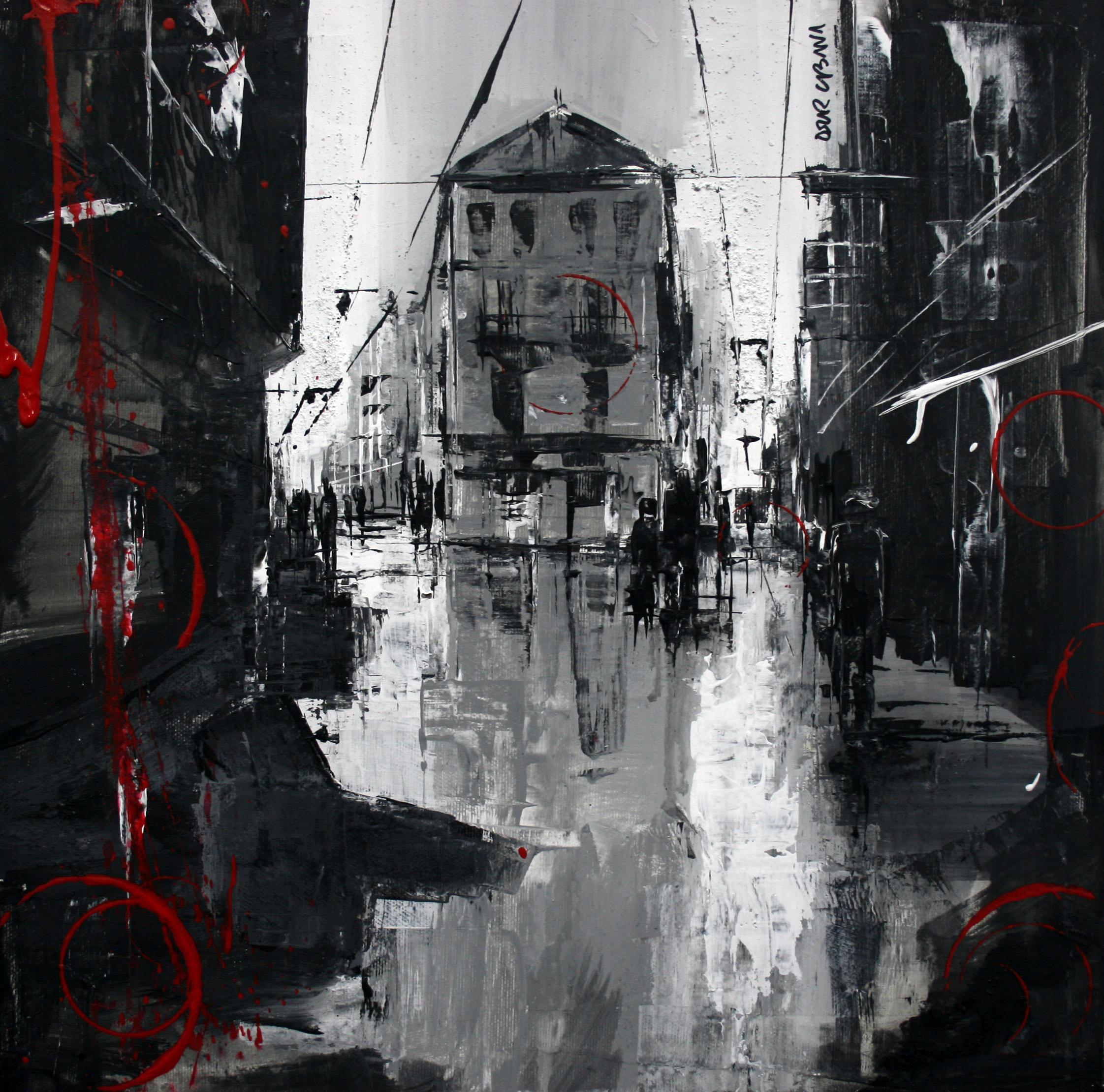 871_carrer del carme_40x40cm_mixta sobre lienzo